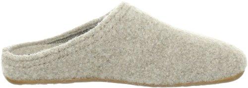 HaflingerClassic - Pantofole non imbottite donna Beige (Beige (natur 87))