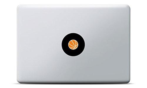 MacBook Sticker Basketball Aufkleber