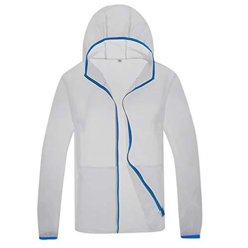 Sonnenschutzjacke Unisex Cooling Sommer Outdoor-klimatisierte Kleidung Bluse Elecenty Sonnenschutzjacke UV-Schutz Softshelljacke Winddicht Wasserabweisend Atmungsaktiv (Kleidung Für Mädchen Aeropostale)