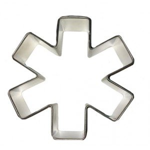 R & M Asterisk/Star of Life (EMS) Cookie Cutter Brownie-cutter