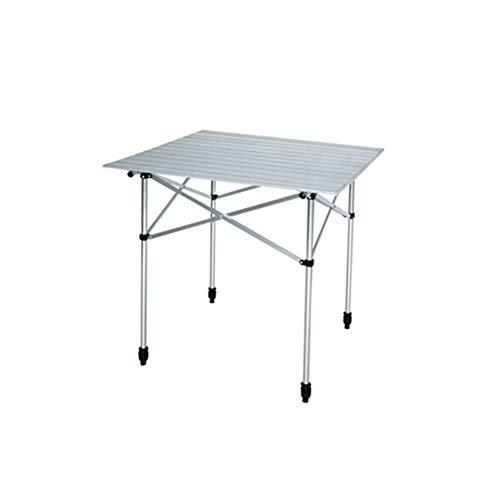 AKJC Table Pliante Campingtable De Pique-Nique Pliante en Aluminium pour Camping en Plein Air, Table Pliante