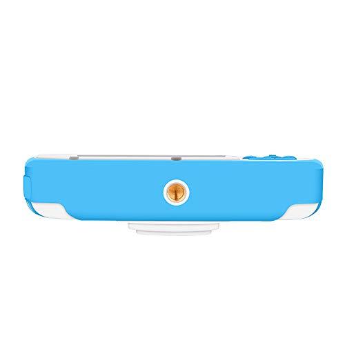 Cámara Digital Impermeable para Niños, CamKing K3 Cámara Digital Impermeable para niños de Dibujos Animados con, Pantalla de 2,7 Pulgadas(Azul)