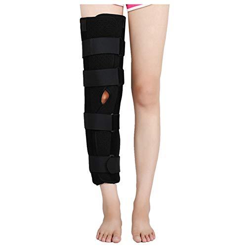 AOPAWOX Kniebandage, Kniestützstabilität, leichte Patella-Instabilität, Kniebandage meniskus, Knieorthese Sport Herren und Damen,S