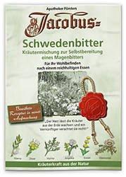 Jacobus Schwedenbitter Spar-Set 3x36g. Kräutermischung zur Bereitung eines Kräuterbitters. Mit Eberwurzel, Manna, Zitwer, Myrrhe, Angelika und Enzian.