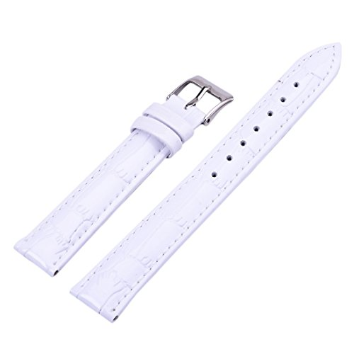 12-14-16-18-20-22-mm-bracelet-de-montre-homme-femme-rechange-en-pu-cuir-blanc-watch-strap-band