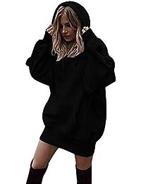 Frau Zur Seite Fahren, Quaan Mode Kleider Hoodies Mantel Kapuzenpulli Sweatshirt Herbst Winter Spleißen Hemd Jacke Draußen solide Farbe Oberteile Bluse Beiläufig warm Beiläufig Klassisch Sweatshirt