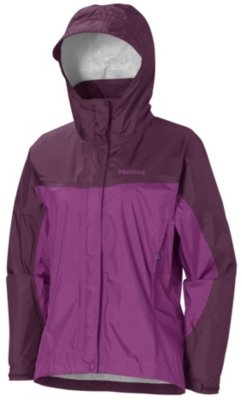 Marmot – Giacca impermeabile da donna WM Precip Jacket, Grape berry/Dark Purple, XXL, R1027 – 6788 – 7