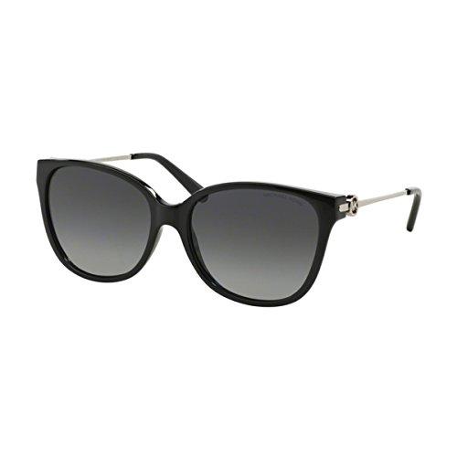 Michael Kors Damen Marrakesh MK6006 Sonnenbrille, schwarz-grau verlauf polarisiert 3005T3), Medium (Herstellergröße: 57)