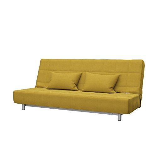 Soferia - Ikea BEDDINGE Fodera per Divano Letto a 3 posti, Elegance Dark Yellow