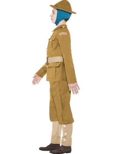Jungen Kostüm 1914 Stil, Nachdruck des Rekrutierungsaufrufes Soldier Kostüm 7-12 Jahre