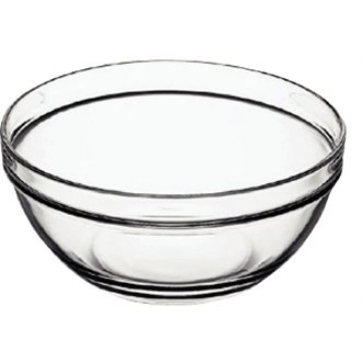 Arcoroc E550 Chefs Glass Bowl, 1063 mL, 170 mm (Pack of 6)