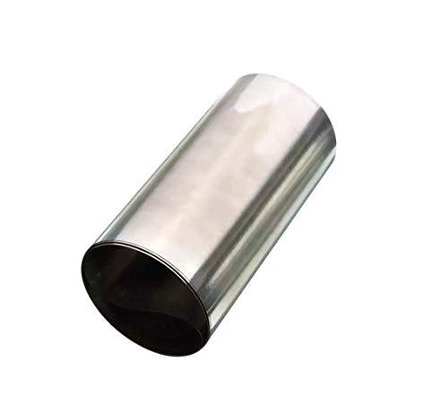 DyNamic Silber Edelstahl Feinblech Folie 0,1x100x1000mm - Edelstahl Folie