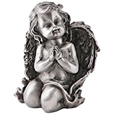 serafinum Rodillera Nel Ángel Grab–Figura de ángel banda, Metal, aluminio, 10,5x8,5cm (HxB)
