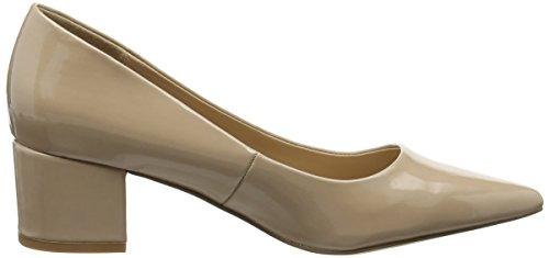 New Look - Tracker, Scarpe col tacco Donna Beige (Beige (14/Oatmeal))