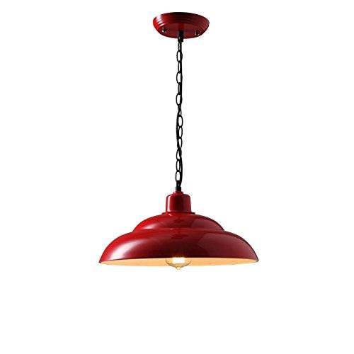 Wings of Wind - Retro-Deckenleuchte Pendelleuchte Lampenschirme Anzug Wohnzimmer, Garten auch Restaurant und Bar (Rot)