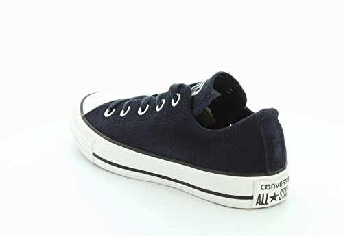 Converse  Chuck Taylor All Star Adulte Seasonal Suede Ox, Sneakers Basses homme Bleu - Bleu marine