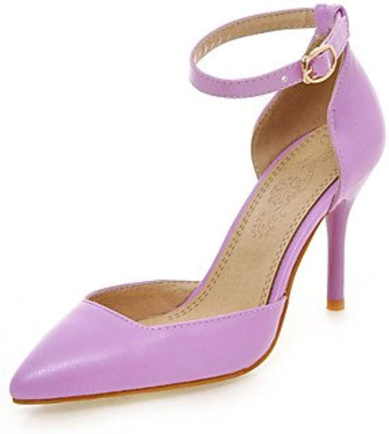 Zormey Women'S Shoes Stiletto Heel/Pointed Toe Heels Wedding/Party &Amp; Evening/Dress Black/Pink/Purple/White...