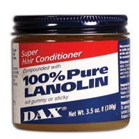 Dax Super Hair Conditioner Compounded With 100 Percent Pure Lanolin, 37910 - 3.5 Oz by IMPERIAL DAX BEAUTY (English Manual)