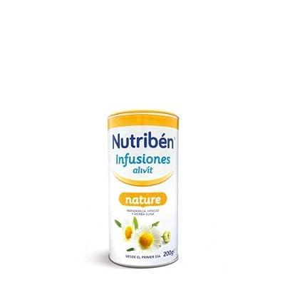 Nutribén - Infusion Alivit Camomille, Fenouil, Verveine Nutribén 200 gr - 2295346