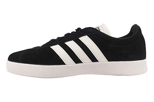 adidas VL Court 2.0, Scarpe da Ginnastica Uomo Nero (Core Black/Ftwr White/Ftwr White)
