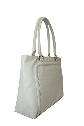 ARMANI JEANS Borsa Shopping Donna Ecopelle Saffiano Nappa Beige 0528L A3 Beige