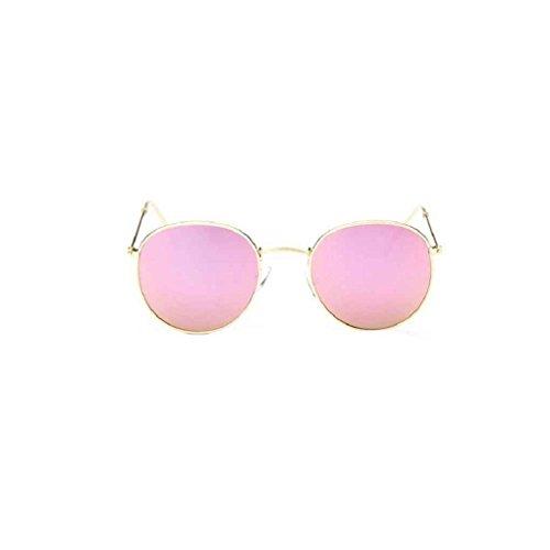Meisijia Frauen-Mann-Sonnenbrille Wayfarer polarisierte Sonnenbrille klassische Art Runde Unisex Brille verspiegelten Gläsern