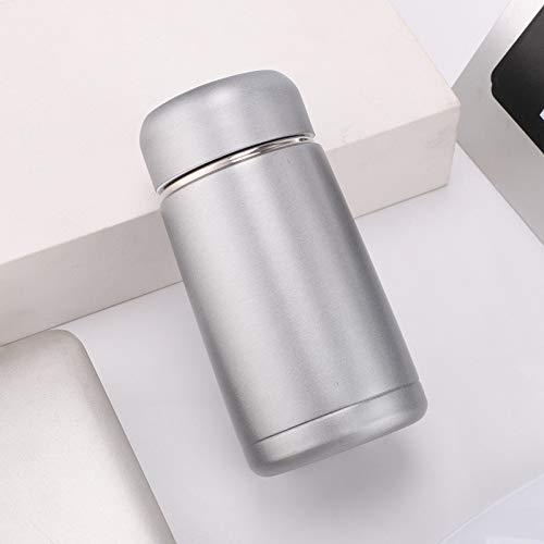 JIAOJIAN Tazza Chubby Portatile all'aperto della Mini Tazza dell'Acciaio Inossidabile di Modo Creativo Vuoto B 350ml