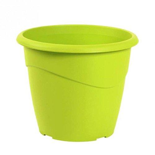EDA Pot rond non percé Marina Ø 35cm - Contenance 16l - Vert pistache