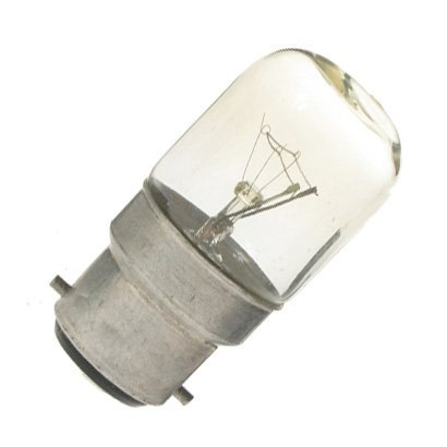 10 x Eveready 15W Pygmy Light Bulbs, Bayonet Cap B22 BC B22d 240v, Clear Sewing Machine/Appliance Lamps/Night Light/General Purpose lightbulbs, Mains 240V
