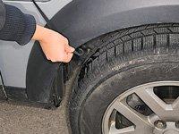 Auto-Halbgarage aus Nylon für Kleinwagen, 259x122x61cm