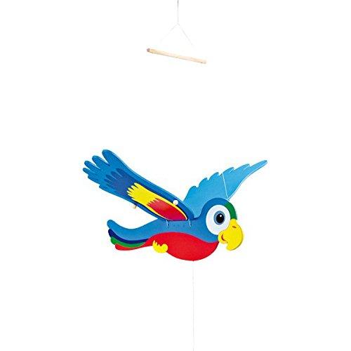 Legler 1216 Bunter Schwing-Papagei