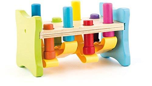 Woodyland 102191841 - Martillo juguete madera plástico