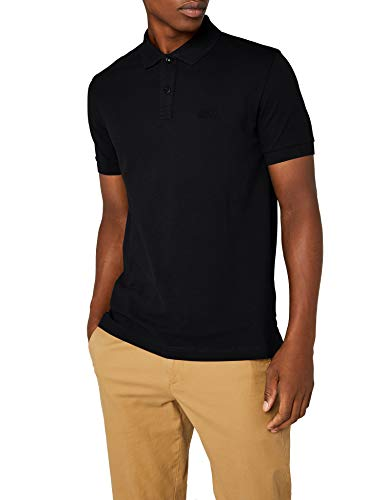 Schwarzes Pique Polo Shirt (BOSS Herren Piro Poloshirt, Schwarz (Black 1), X-Large)