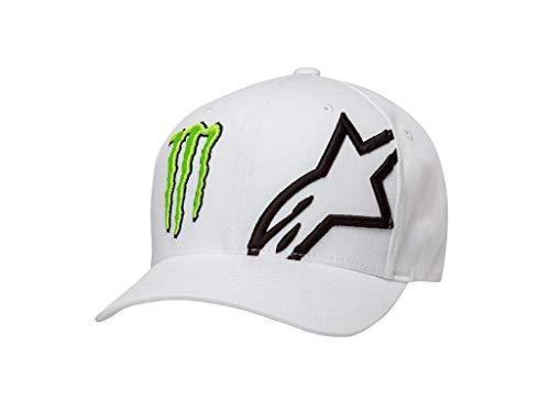 Alpinestars Flexfit Cap Monster Weiß Gr. L/XL