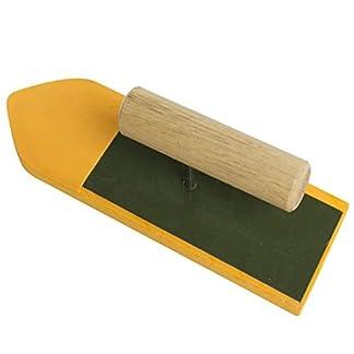 Llana de flotador de esponja de 10 pulgadas con mango de plástico, herramientas de mano de estuco de mampostería