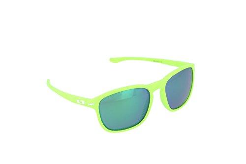 Oakley Herren Enduro OO 9223 Wayfarer Sonnenbrille Schwarz (Fingerprint Retina)