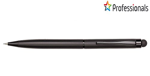 AKON INDIA 2-in-1 High Sensitivity Metal Stylus Pen (Black, 12.5x3x9 cm)