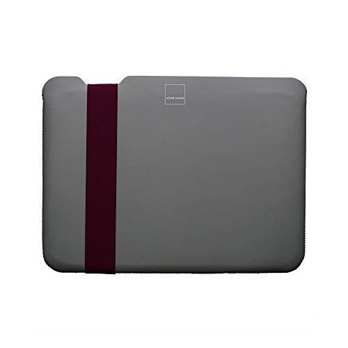 Acme Made Skinny Sleeve S, Ultra-dünne Tablet- und Notebookhülle, 11-13 Zoll, Neopren, grau/fuchsia - Acme Made Laptop-taschen