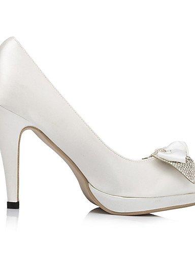 WSS 2016 Chaussures de mariage-Ivoire / Blanc-Mariage / Habillé / Soirée & Evénement-Talons / A Plateau-Chaussures à Talons-Homme 4in-4 3/4in-ivory