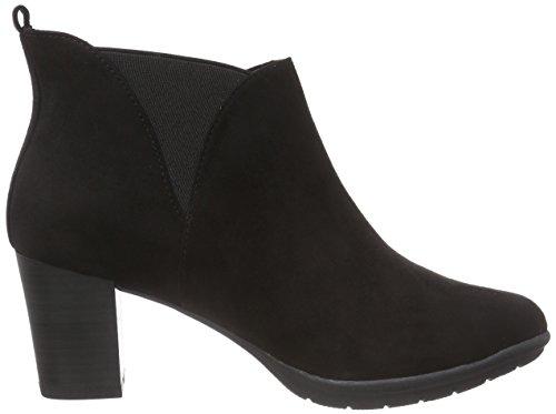 Marco Tozzi 25381 Damen Chelsea Boots Schwarz (Black 001)
