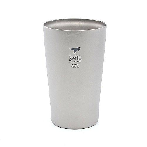 Keith 320ml-450ml Titan Tasse Bier Becher Camping Tasse (320ml)