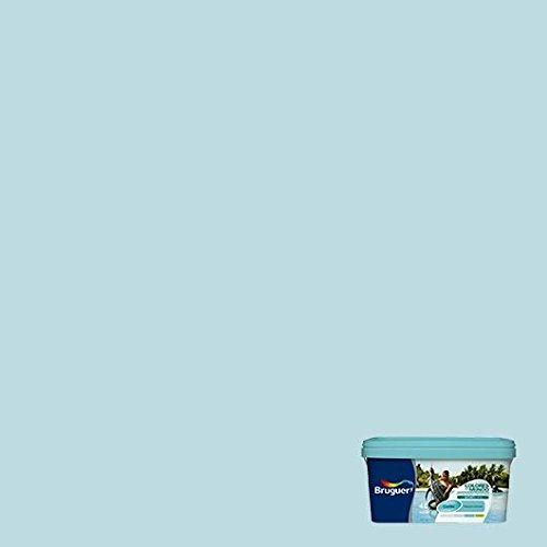 Bruguer 5160735 - Colores del mundo Caribe TURQUESA intermedio 4 L