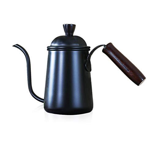 AMhomely Manuelle Kaffeekanne Gießen Sie Kaffee Tee Wasserkocher Edelstahl Teekanne Kaffee Wasserkocher