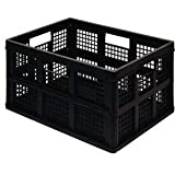 Really Useful Box Klappbox 45FBK Schwarz 45l (B x H x T) 390 x 280 x 570mm 1St.