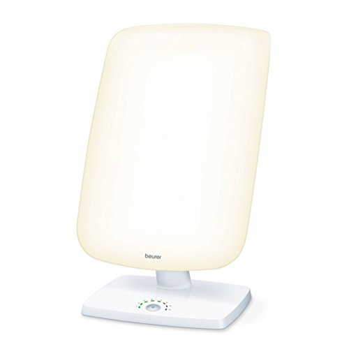 Beurer TL 90 Tageslichtlampe, Lichttherapielampe mit stufenloser Neigungsverstellung, Behandlungszeit-Anzeige
