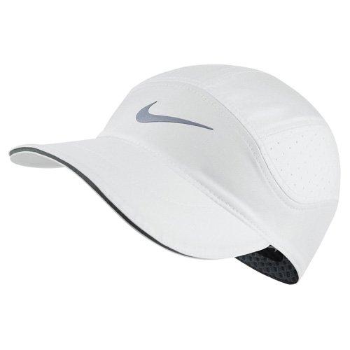 Nike U Nk Arobill Cap TW Elite Gorra de Tenis, Hombre, Blanco (White/Cool Grey), Talla Única