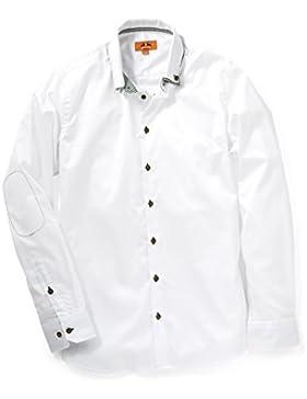 Maddox Herren Trachtenhemd weiß
