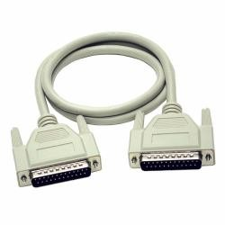 CablesToGo 5m DB25 M/F Cable -