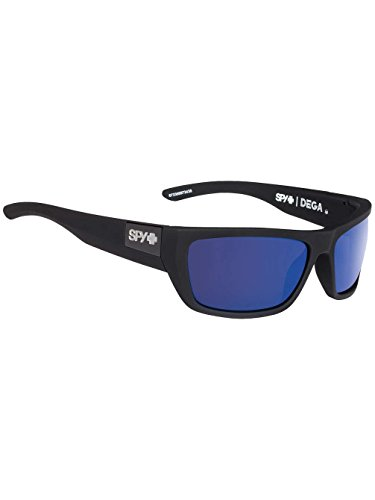 b3686aa01c Spy Optic Dega sunglasses black   Happy bronze Polar dark blue Spectra lens