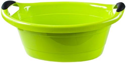 Wanne oval 14 Liter 18 x 50 x 38 cm grün